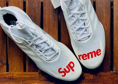 Supreme-Inspired Cleats