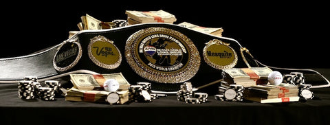 golf custom championship belt