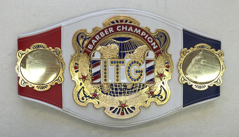 Barber Shop Championship Belt