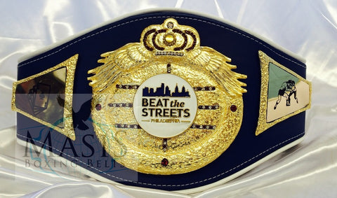 beat the streets championship belt