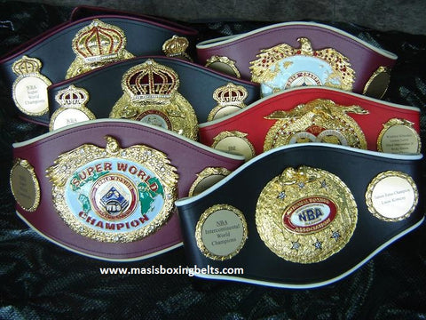 Boxing Belts , Championship Belts, MMA Belts, Wrestling belts