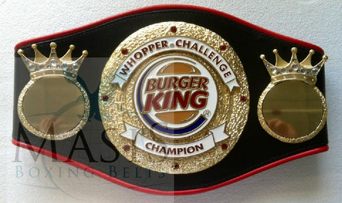Burger King Championship Belt