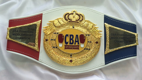 boxing custom belt
