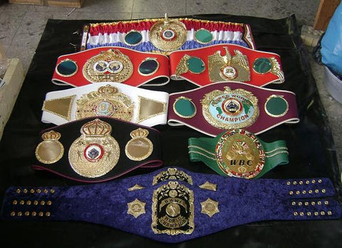 Combo Belts Boxing Belts , Championship Belts, MMA Belts, Wrestling belts