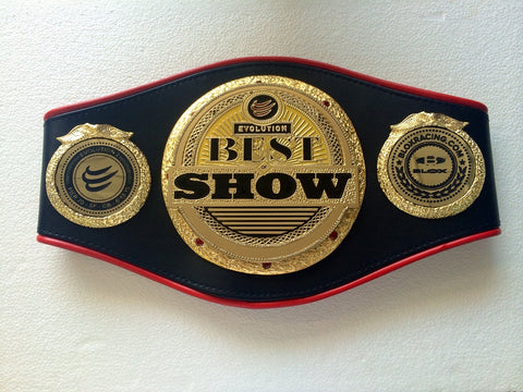 best of show championship Belts