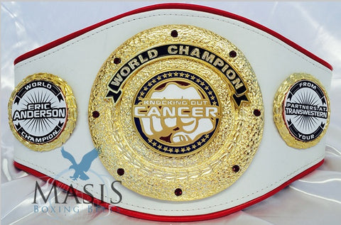 fighting cancer custom belt