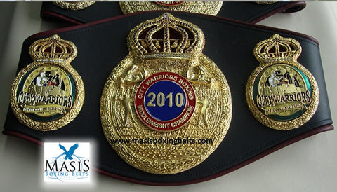 Championship Belt Triple Crown