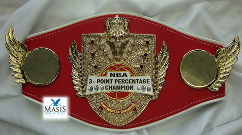 3 Point Contest Championship Belt