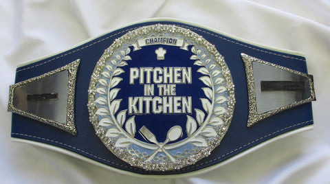 pitchen the kitchen championship belt