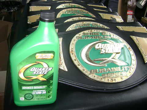 quaker state custom belt