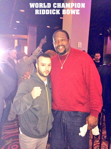 riddick bowe with johnny Masis