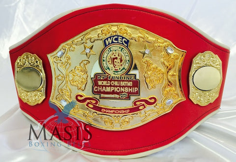 Chili Cook Off Championship Belt