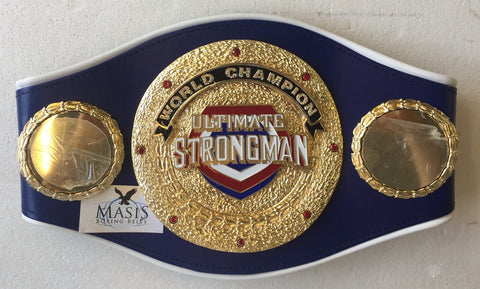 Tough Man Championship Belt