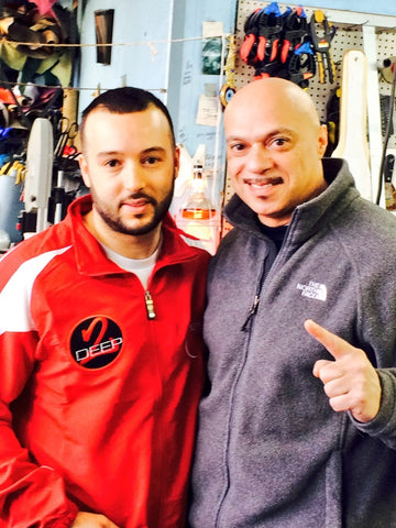 willie vargas world trainer with johnny