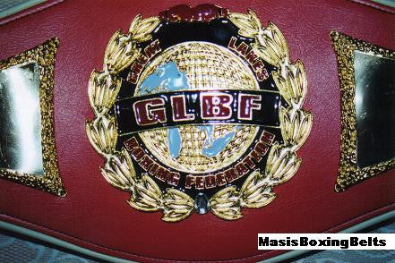 GLBF - Great Lakes Boxing Federation Boxing Belts