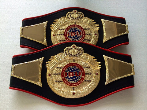 ibu - international boxing union boxing belts