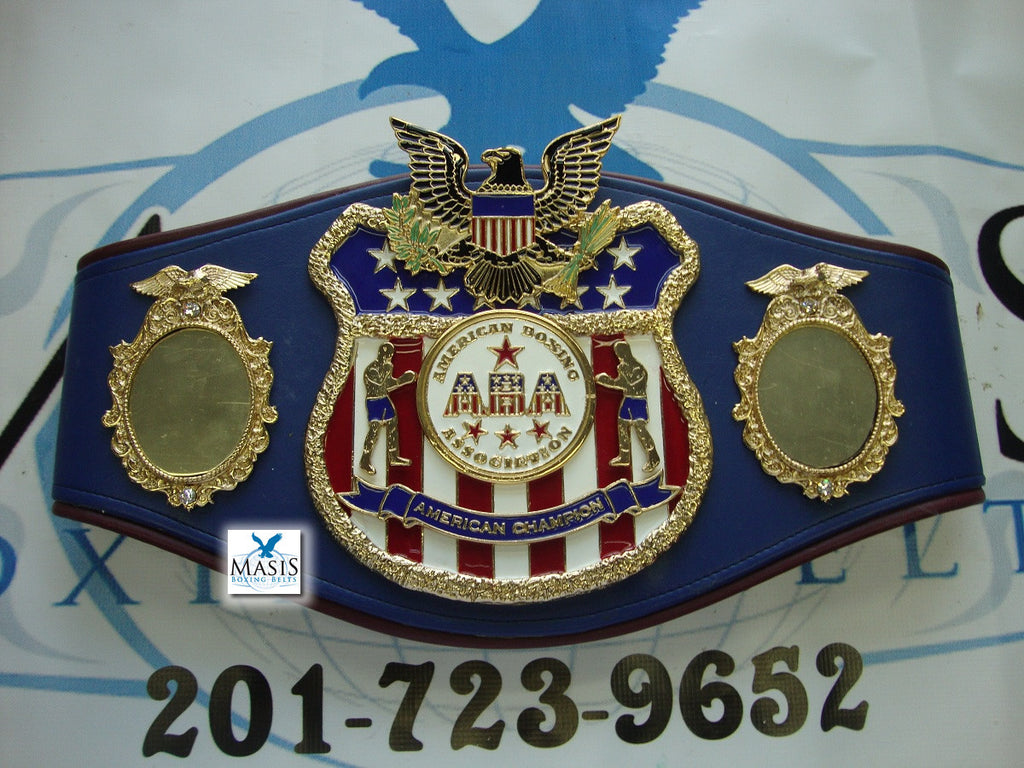 american boxing association boxing belts