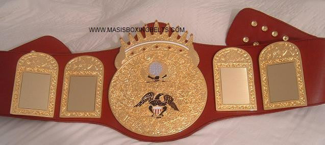 Independent Wrestling Belt - Masis Wrestling Belts