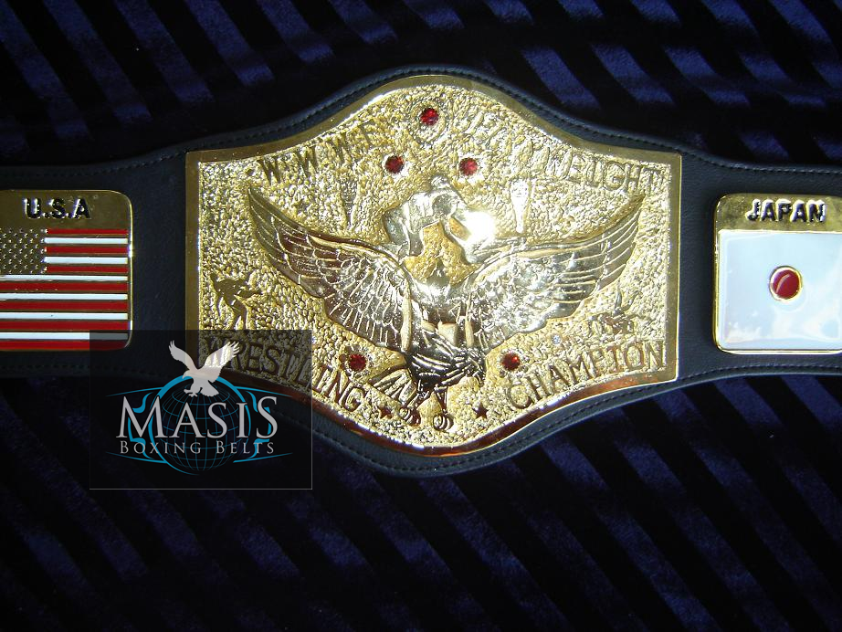 Bob Backlund Wrestling Championship Belt