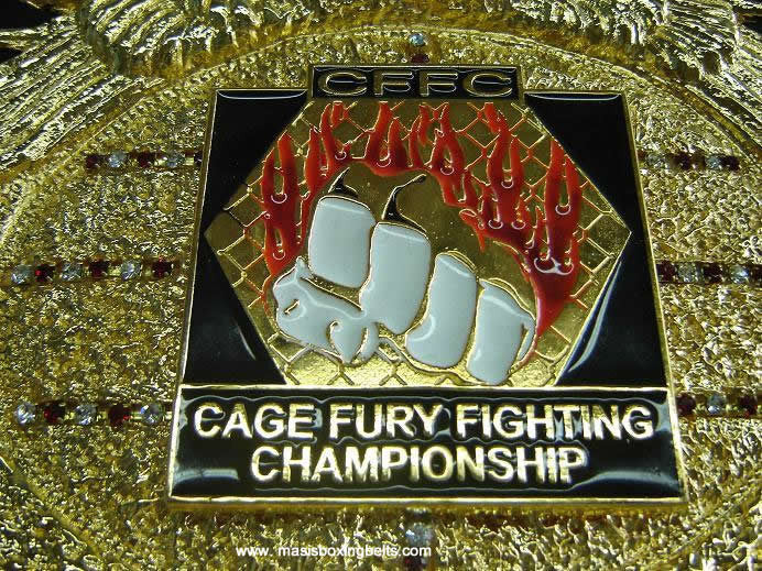 cffc - cage fury fighting championship mma belts