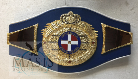 dominican republic championship belt