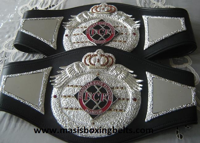 fcf freestyle cage fighting championship belt mma belts