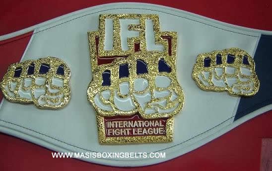 ifl international fight league mma belts