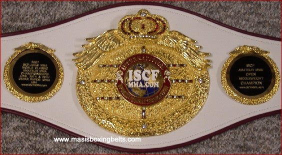 iscf - international sports combat federation karate belts