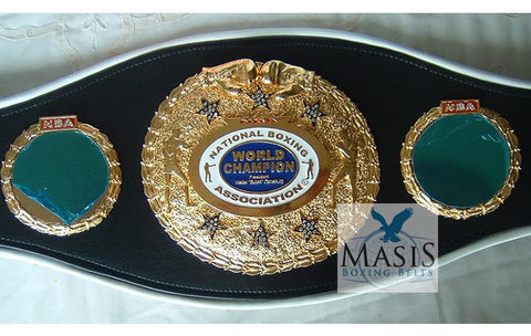 nba - national boxing association boxing belts