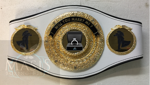 proposal Championship Belt , Wedding & Engagement Ideas