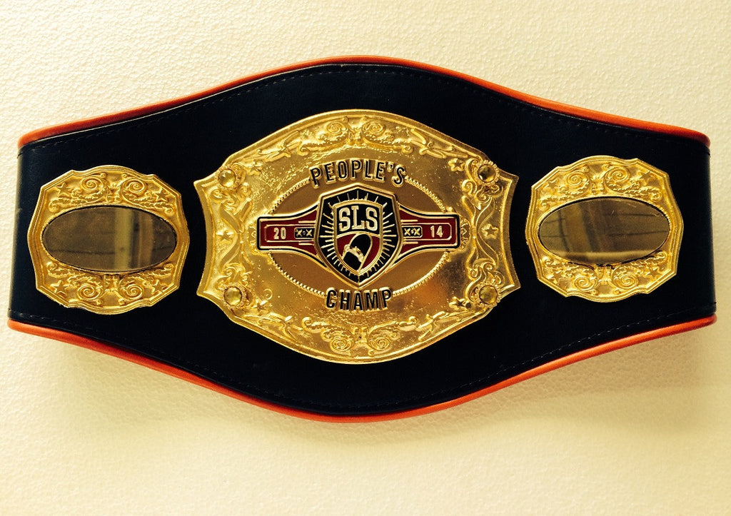 Silky Smooth Style Championship Belt - Custom Belts
