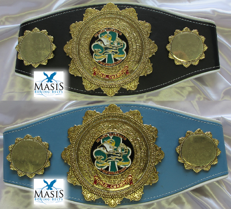 cutting edge style championship belt