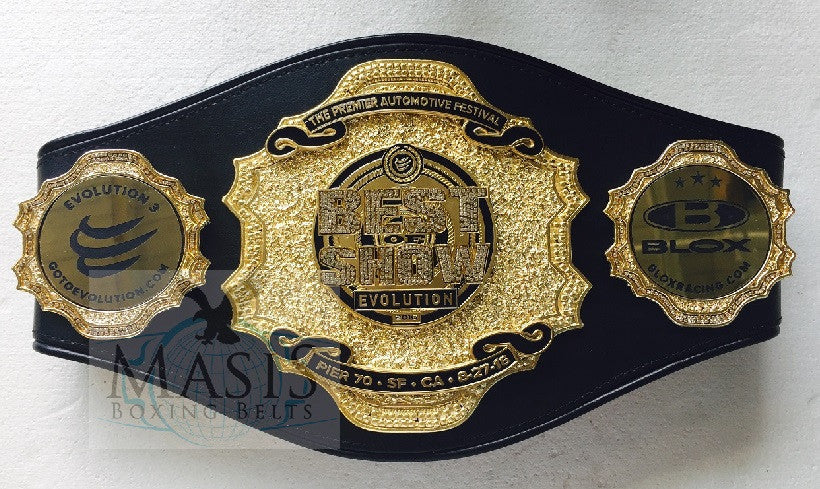 Ultimate Showdown Championship Belt - Custom Belts