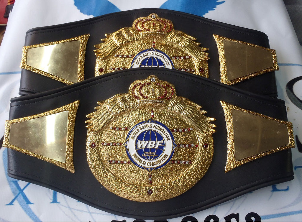 wbf - world boxing foundation boxing belts