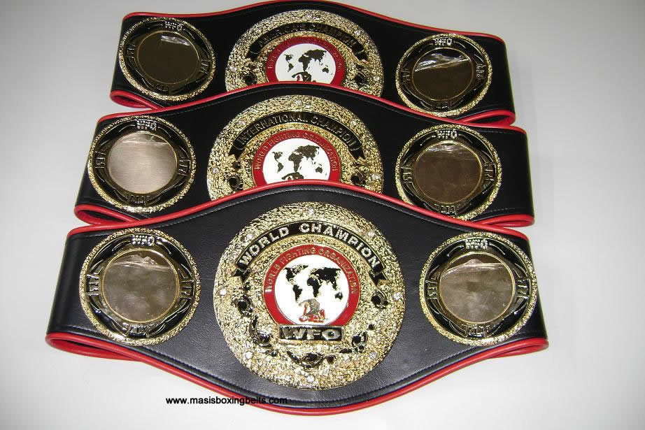 WFO World Fighting Organization MMA Belts