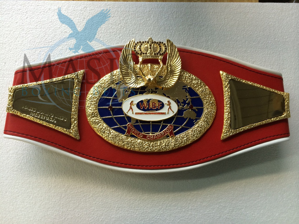 wibf womens international boxing federation championship boxing belt