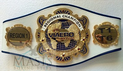 World Globe Style Championship Belts - Custom Belts