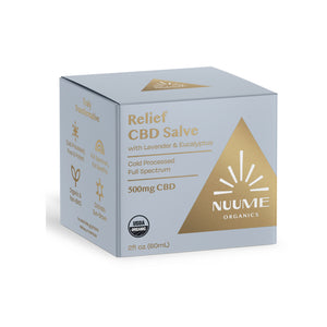 NUUME 올개닉 Full Spectrum Hemp Suppliment 통증 크림 500MG