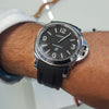 Coming soon: The Everest Rubber Panerai Luminor Curved End Rubber Strap