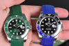 rolex rubber watch band
