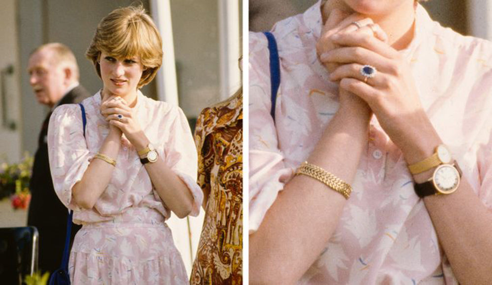 princess diana double wristing