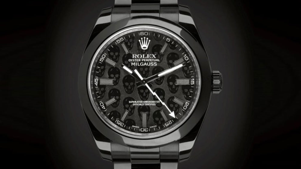 dlc/pvd black coating rolex