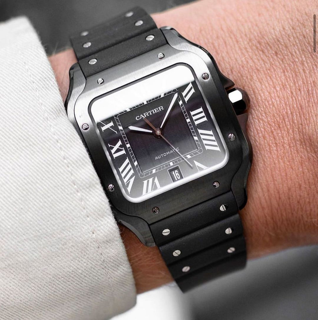 Cartier Santos ADLC All Black