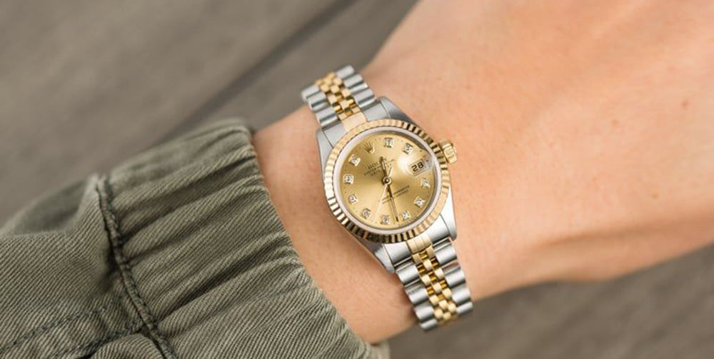 lady's rolex datejust