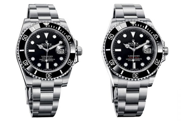 Rolex submariner before and possibly after