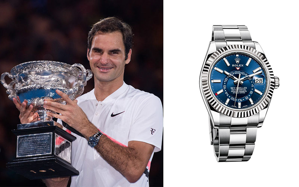 rolex and tennis