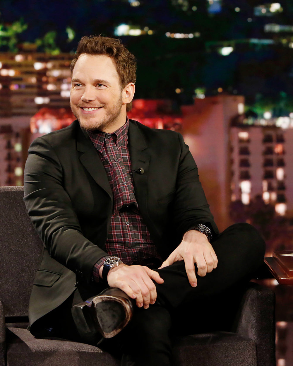 chris pratt and rolex