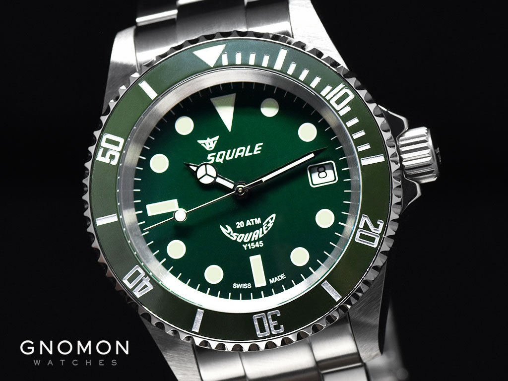 Squale Atmos Green