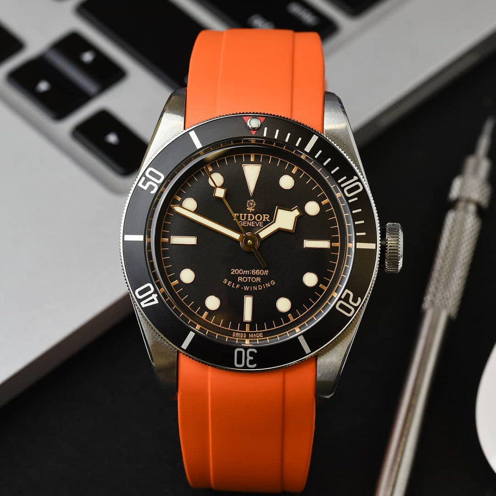 tudor heritage black bay watch band