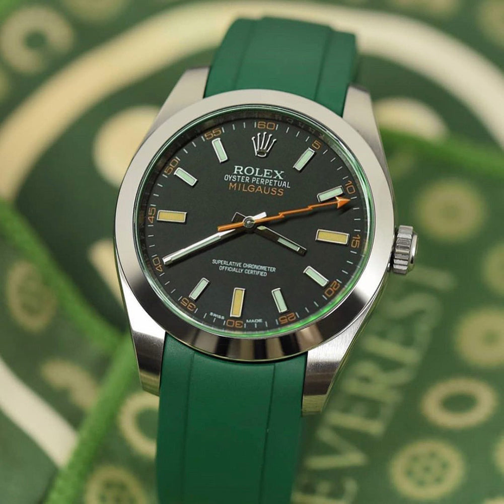 rolex milgauss watch strap